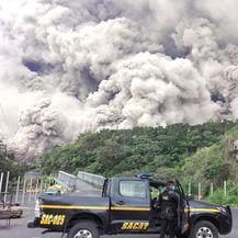 Erupcija vulkana Fuego u Gvatemali (Foto: AFP) - 4