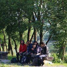 Mladi Sirijci pet dana pješačili od Bosne do Hrvatske (Foto: Radio Mrežnica)