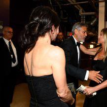 Courteney, George i Jennifer na gala večeri