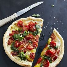 Pesto genovese može se staviti i na pizzu