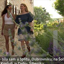 Hollywoodska zvijezda u Hrvatskoj (Video: Dnevnik Nove TV)