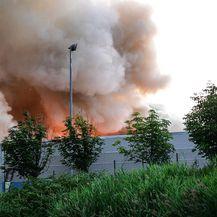 Zagreb: Požar u C.I.O.S.-u na Jankomiru (Foto: Marko Prpic/PIXSELL)