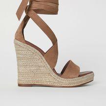 Sandale špagerice u boji kože - 3