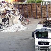 Gorio glomazni otpad (Video: Dnevnik Nove TV)