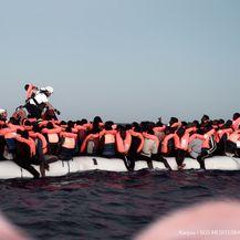 Spašavanje migranata (Karpov / SOS MEDITERRANEE / AFP)