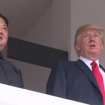 Sastali se Donlad Trump i Kim Jong-un (VIDEO: AP)