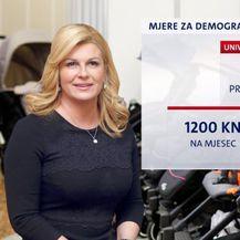 Koliko koštaju demografske mjere predsjednice Grabar-Kitarović? (Foto: Dnevnik.hr) - 1