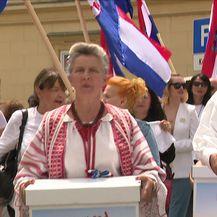 Inicijativa Narod odlučuje predala potpise za referendum (Video: Dnevnik Nove TV)