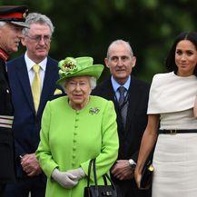 Kraljica Elizabeta II. i Meghan Markle u obilasku sjeverozapadne Engleske - 4