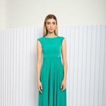 Tirkizne haljine Lei Lou by Alex Dojčinović - 4