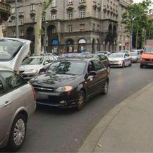 Prosvjed zagrebačkih vozača zbog poskupljenja goriva (Foto: Dnevnik.hr)