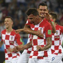 Slavlje Hrvatske (Foto: AFP)
