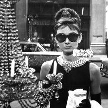 Audrey Hepburn u filmu\'Doručak kod Tiffanyja\'