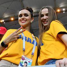 Brazilske navijačice (Foto: AFP)
