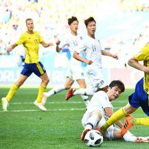 Švedska - Južna Koreja (Foto: AFP)