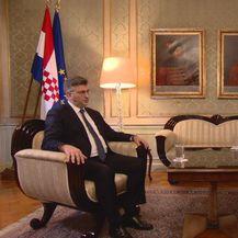 Mislav Bago intervjuirao premijera Andreja Plenkovića (Foto: Dnevnik.hr) - 3