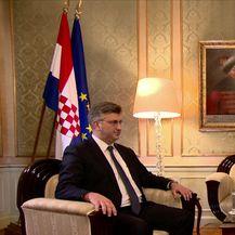 Mislav Bago intervjuirao premijera Andreja Plenkovića (Video: Dnevnik Nove TV)