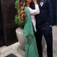 Duje Ćaleta-Car i Adriana Đurđević (Foto: Instagram)