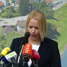 Gradonačelnica Siska napala HDZ i Crkvu (Video: Dnevnik.hr)