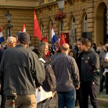 Okupljanje antifašista na Trgu Republike Hrvatske u Zagrebu (Foto: Dnevnik Nove TV) - 1
