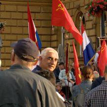 Okupljanje antifašista na Trgu Republike Hrvatske u Zagrebu (Foto: Dnevnik Nove TV) - 2
