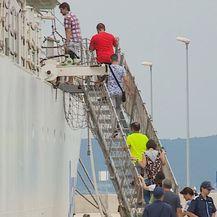 Japanski brod Obalne straže u Splitu (Foto: Dnevnik.hr)