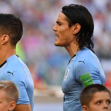 Luis Suarez i Edinson Cavani (Foto: AFP)