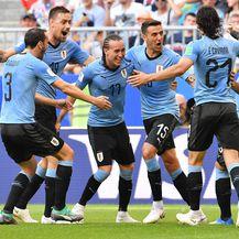 Slavlje Urugvaja (Foto: AFP)