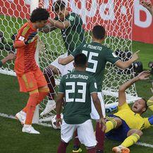 Meksiko - Švedska (Foto: AFP)