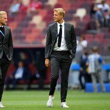 Kasper Schmeichel i Jonas Lossl, vratari danske nogometne reprezentacije