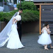 Vjenčanje Filipa Hrgovića i Marinele Ćaja (Foto: Marko Lukunic/PIXSELL) - 6