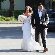 Vjenčanje Filipa Hrgovića i Marinele Ćaja (Foto: Marko Lukunic/PIXSELL) - 13