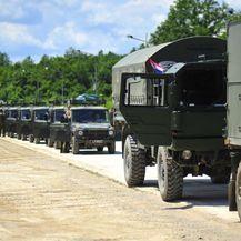 Multinacionalna bojna krenula iz Hrvatske prema Mađarskoj (Foto: MORH/Vinko Jovanovac) - 2