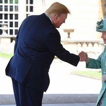 Donald Trump i Kraljica Elizabeta II. (Foto: AFP) - 4