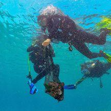 Akcija čišćenja podmorja (Foto: Karlo Maćaš)