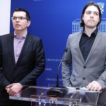 Arhiva, Branimir Bunjac i Ivan Vilibor Sinčić (Foto: Patrik Macek/PIXSELL)