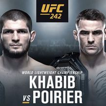 Habib Nurmagomedov vs Dustin Poirier (Screenshot UFC Instagram)