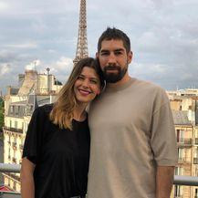 Nikola Karabatić i Geraldine Pillet (Foto: Instagram)