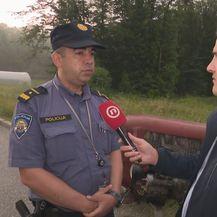 Dalibor Majsec, inspektor prometne policije, i Domagoj Mikić (Foto: Dnevnik.hr)