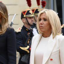 Melania Trump i Brigitte Macron na obilježavanju 75. godišnjice Dana D - 5