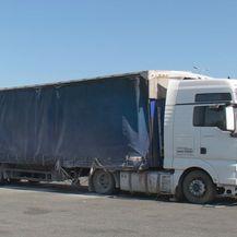 Kamion koji je prouzročio prometnu nesreću (Foto: Dnevnik.hr)