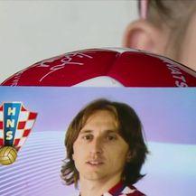 Pismo koje je Luka Modrić posalo Seleni Brunjaji (Video: Dnevnik Nove TV)