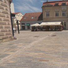 Mjesto gdje će biti izgrađena pozornica na kojoj će pjevati Jelena Rozga (Foto: Dnevnik.hr) - 1