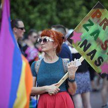 Povorka ponosa LGBTIQ osoba i obitelji Zagreb Pride 2019. pod sloganom \