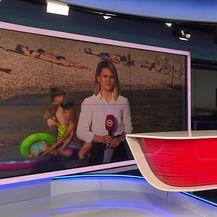 Katarina Jusić pojašnjava mogu li kupači bezbrižno uživati na plaži (Video: Dnevnik Nove TV)
