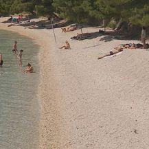 Plaža u Podgori (Foto: Dnevnik.hr)