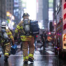 Helikopterska nesreća na Manhattanu (Foto: AFP)
