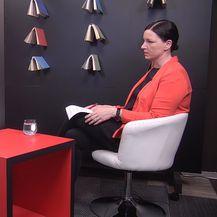 Intervju Lane Ružičić i Blaženke Divjak (Foto: Dnevnik.hr)