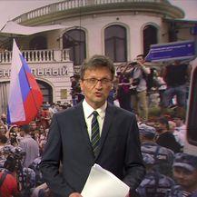 Ruska policija uhitila 400 ljudi tijekom prosvjeda u Moskvi (Video: Vijesti u 17h)