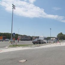 Očevid nakon nesreće na odmaralištu Novska (Foto: Dnevnik.hr) - 2